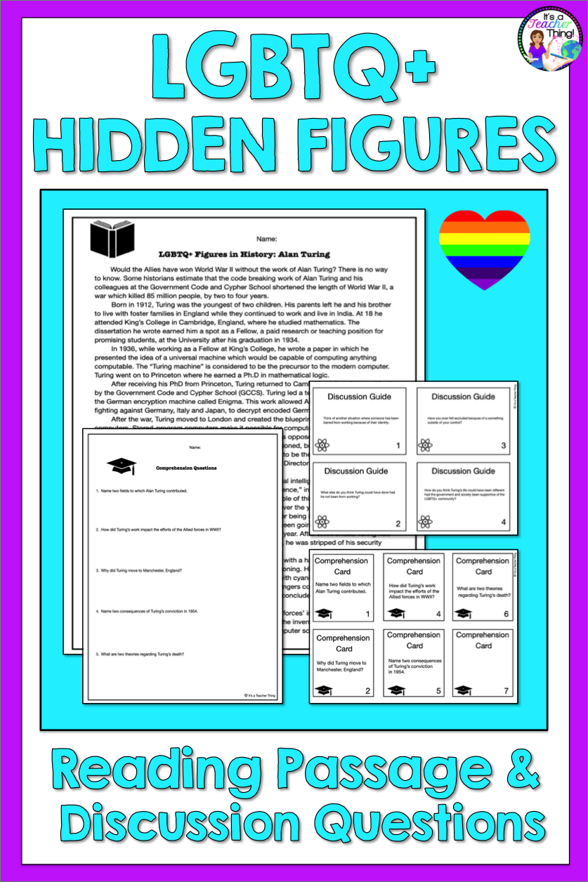 Reading Comprehension Passage And Questions Lgbtq Hidden Figures In History Reading Comprehension Passages Comprehension Passage Reading Comprehension [ 1256 x 837 Pixel ]