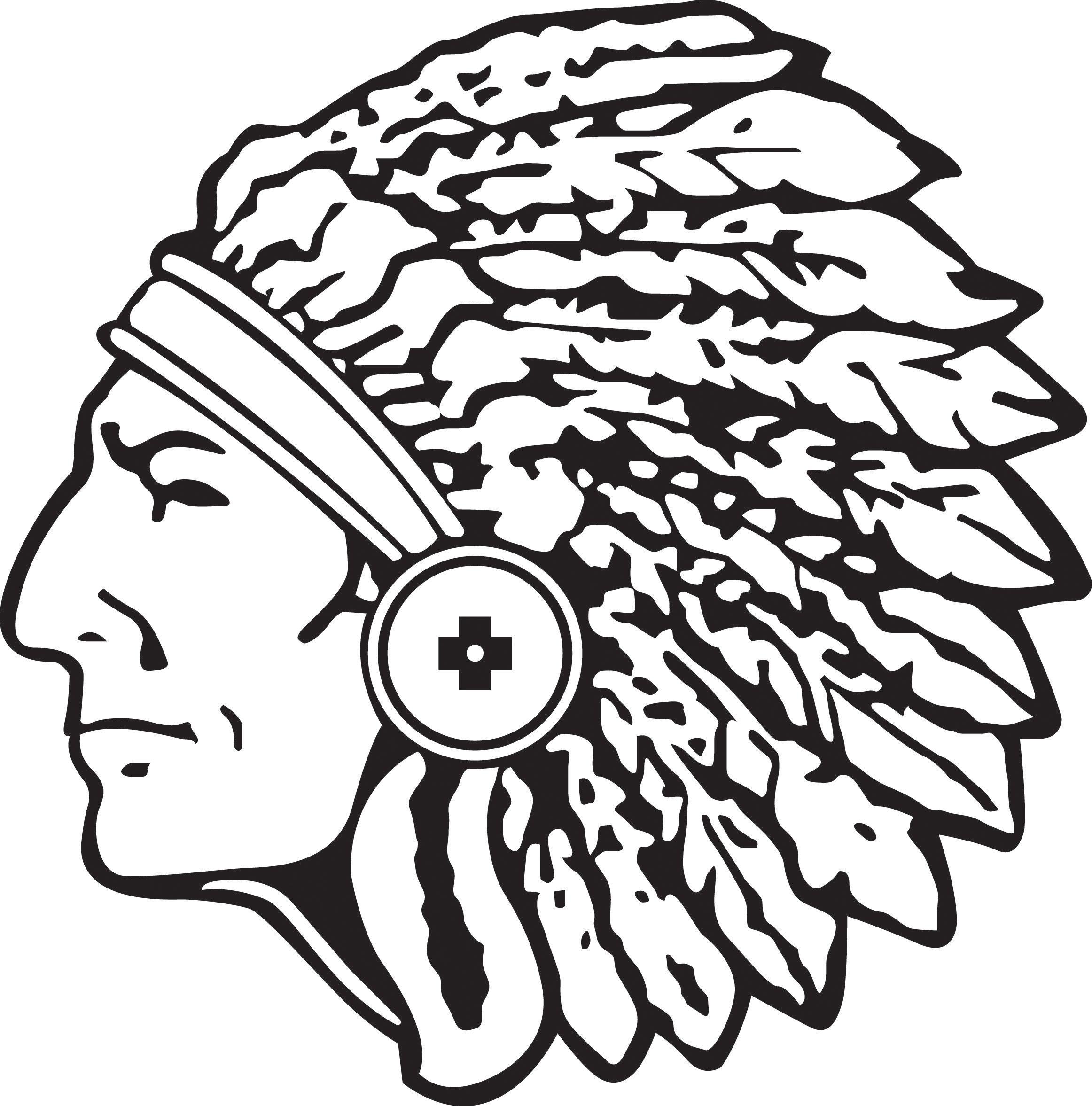 braves indian head logo