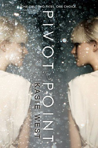 Pivot Point by Kasie West This book was well written and had such a great story line. It kept my attention so much better than cleaning the house and doing laundry. I am so excited to see that there is a follow up book. Pivot Point was intriguing from page one and had such depth and great characters. Can't wait to read more from Kasie West!