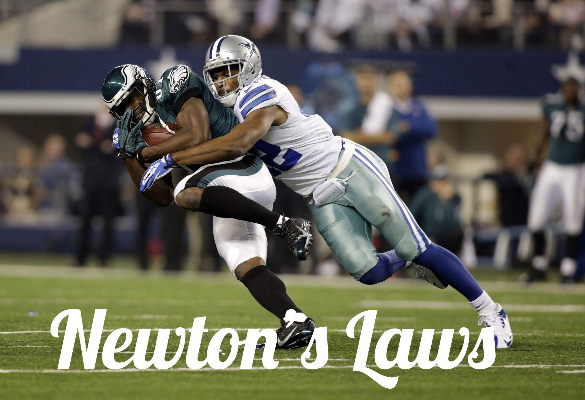 Newton S Third Law Of Motion Science Of Nfl Football Newtons Third Law Of Motion Nfl Football Basketball Science