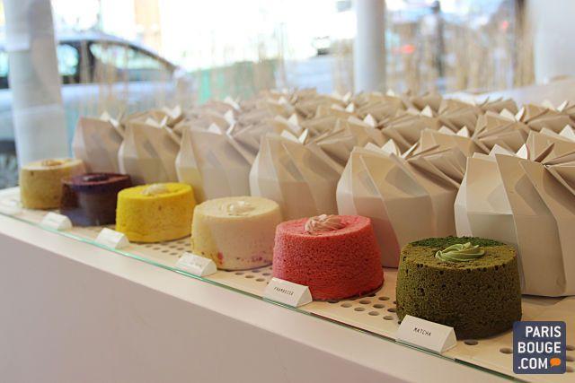 Les Angel Cakes de la Pâtisserie Ciel : nouveau paradis gourmand à Paris Emballage de gâteau