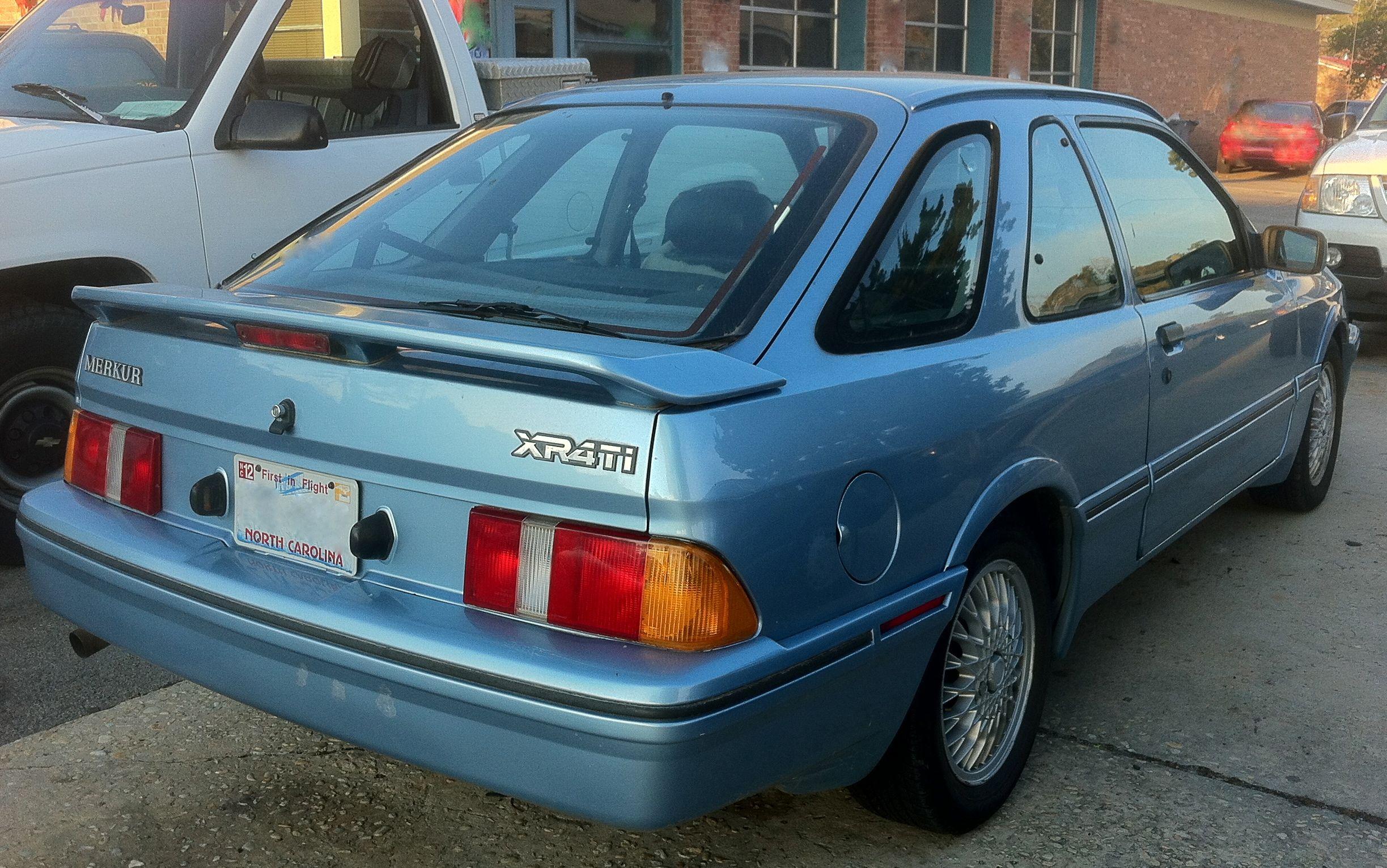 Merkur Xr4ti Sierra For The American Market 2 3i Turbo Engine Hatchback Ford Sierra Ford