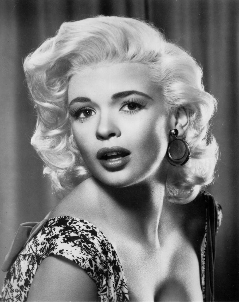 iconic blonde actresses: famous blonde women | jayne mansfield and