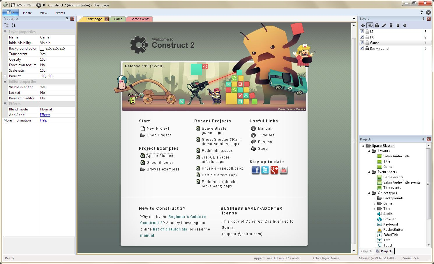 Win Way Resume Amazing Create Games With Construct 2  Scirra  Indie Game Devtips .