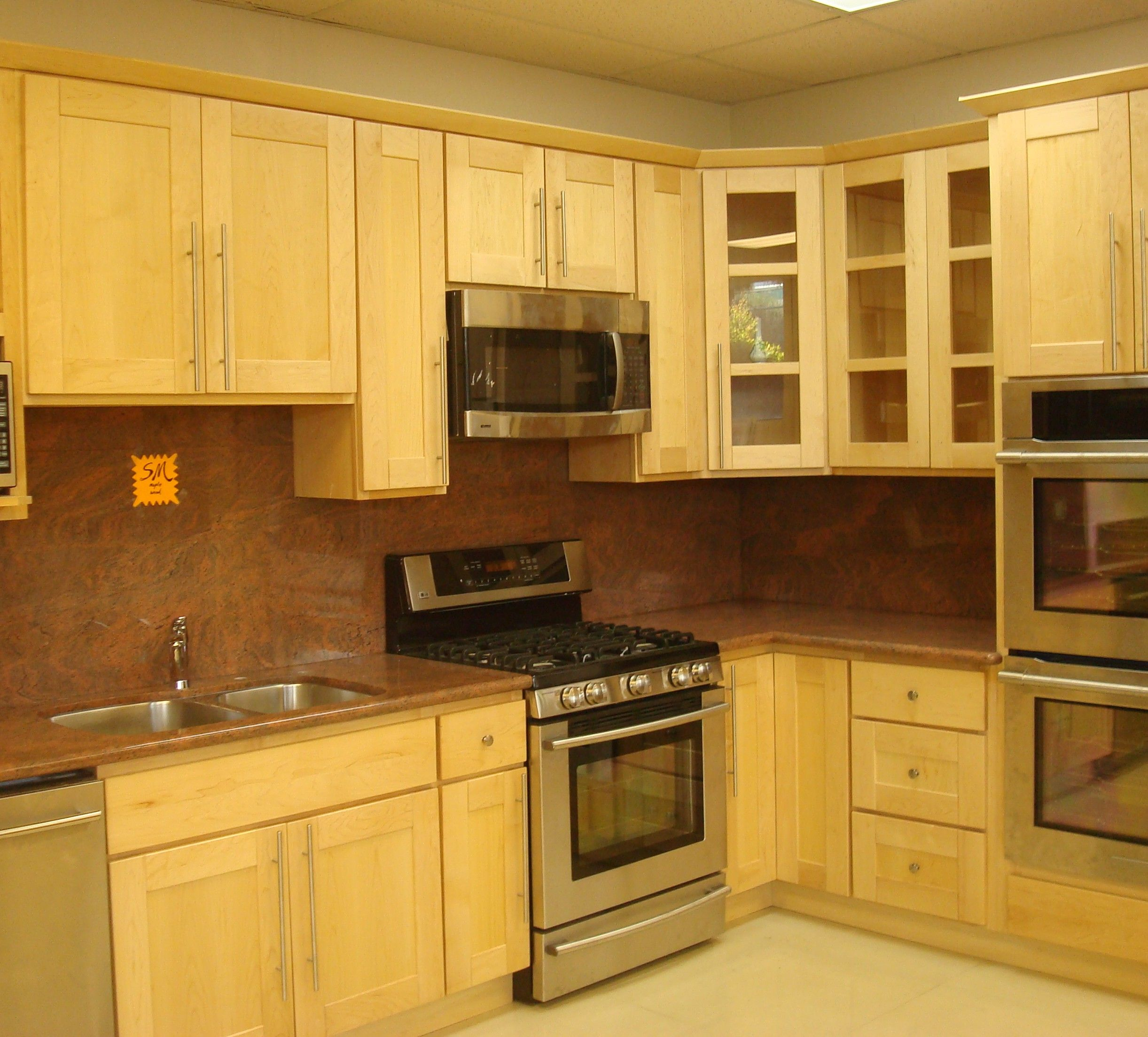Yellow Kitchen Cabinets - http://www.hood-scoop.com/2416/yellow ...