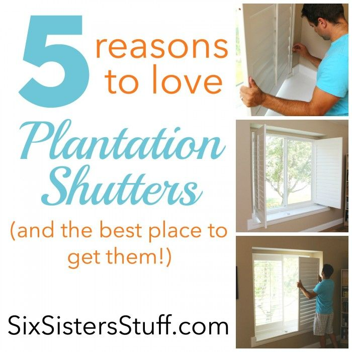 5 Reasons To Love Plantation Shutters   And The Best Place To Buy Them From  For