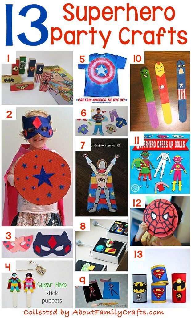 70 Diy Superhero Party Ideas About Family Crafts School In 2019