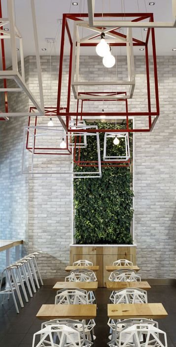 iQ Food Co. Restaurant, Canada designed by II BY IV DESIGN