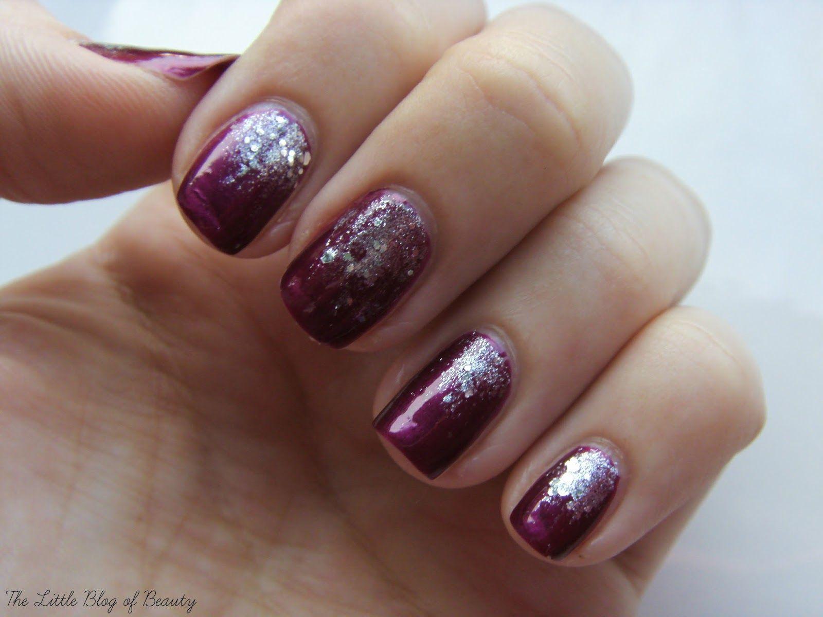 Nail Art Glitter Gradient Opi Beauty Nails And Makeup