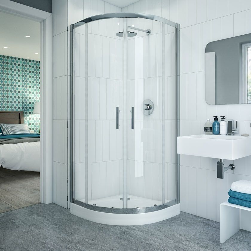Add Luxury And Elegance To Your Bathroom With A Coram Optima Quadrant Shower Enclosure And Tray No Quadrant Shower Enclosures Shower Enclosure Quadrant Shower