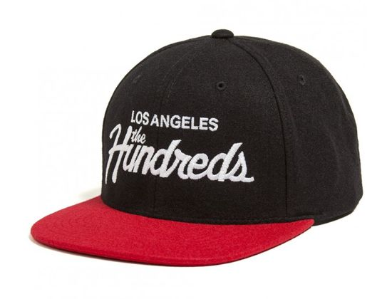 6f5bc69749e Team Black Snapback Cap by THE HUNDREDS. Team Black Snapback Cap by THE  HUNDREDS New Era ...