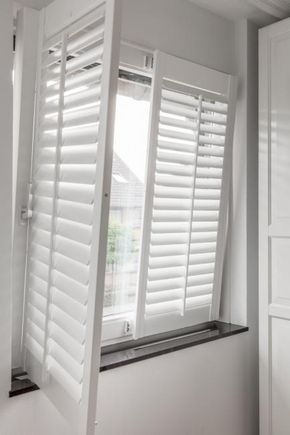 Shutters voor draaikiepramenEen draaikiepraam is een raam dat je aan ...