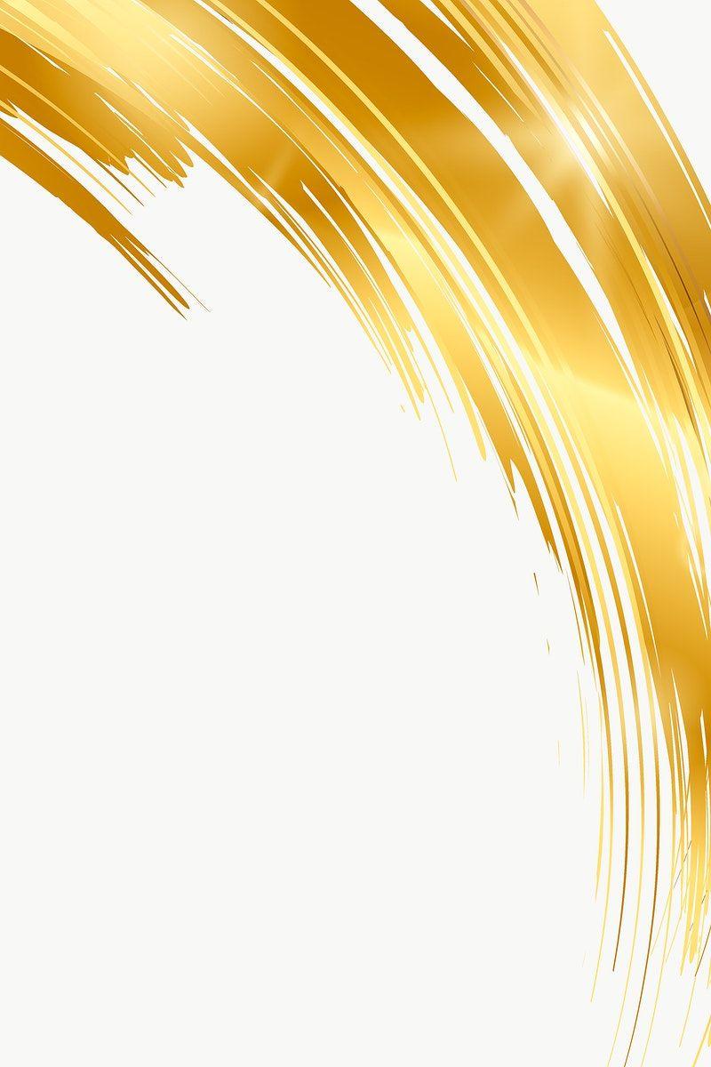 Gold Brush Stroke Design Element Free Image By Rawpixel Com Busbus Abstract Art Wallpaper Digital Graphics Art Gold Dust Wallpaper