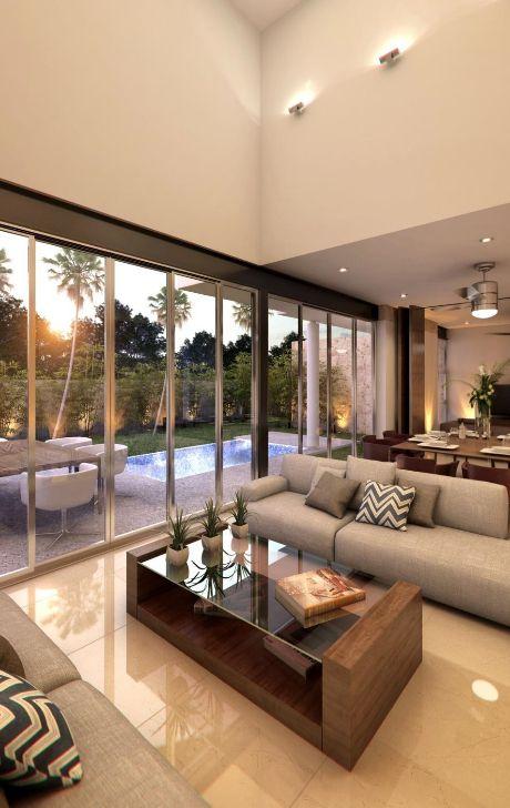 distribución de muebles Salas Pinterest Dobles, Interiores y Casas - Decoracion De Interiores Salas