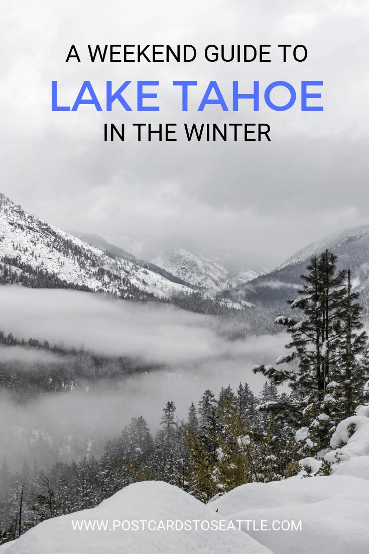 Lake Tahoe Winter Wallpaper Desktop Background: A Weekend Getaway Guide To Winter In Lake Tahoe