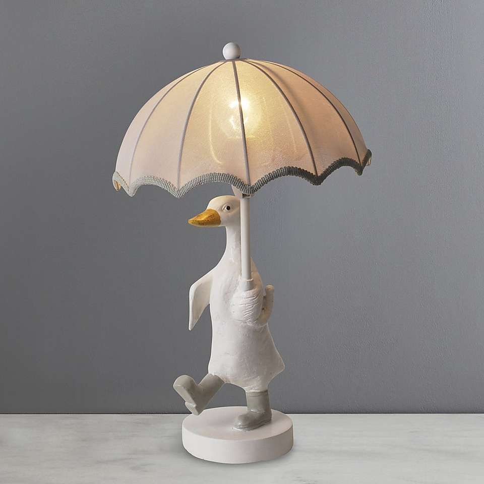 Darcy Duck Table Lamp | Dunelm | Table lamp, Table lamp