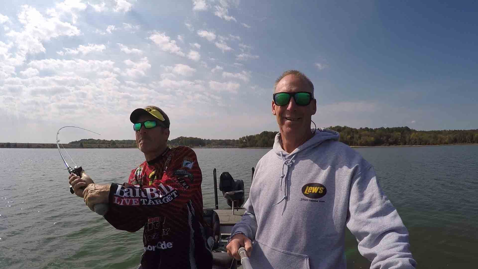 Lew's Pro Stephen Browning on matching line size to reel