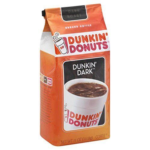 Dunkin' Donuts Dunkin' Dark Coffee, 11 Ounce
