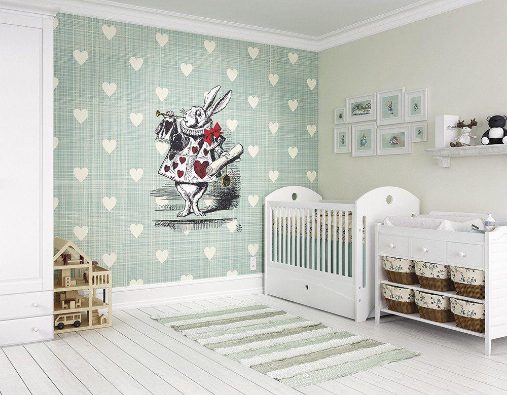 Best Ohpopsi Alice In Wonderland Wonder Heart Wall Mural 400 x 300