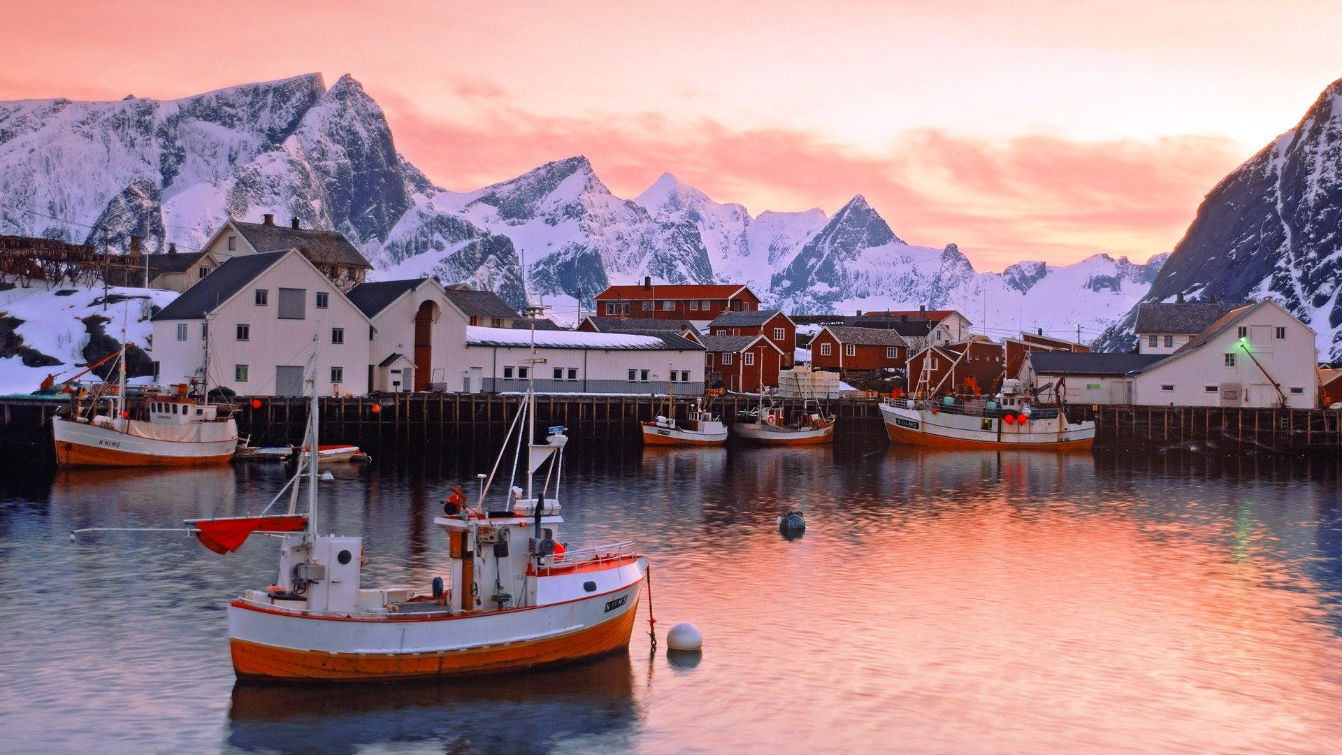 Fishing Village In Norway Beautiful Places Visit Norway