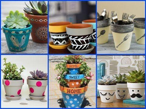 50 Creative Diy Flower Pots Decor Ideas Easy Summer 400 x 300