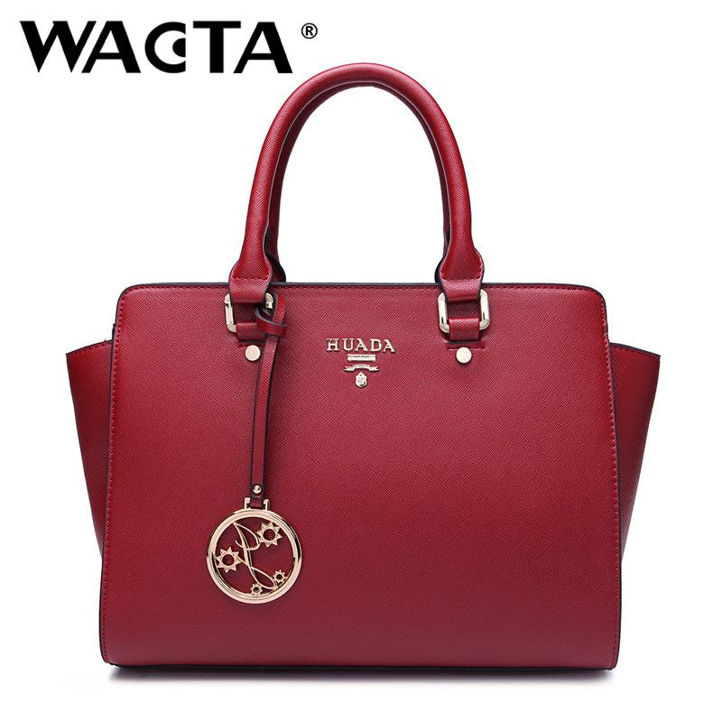 52f93ffcc2a2 WACTA New 2016 Women Bag Luxury Leather Handbags Fashion Famous Brands  Handbag High Quality Brand Female