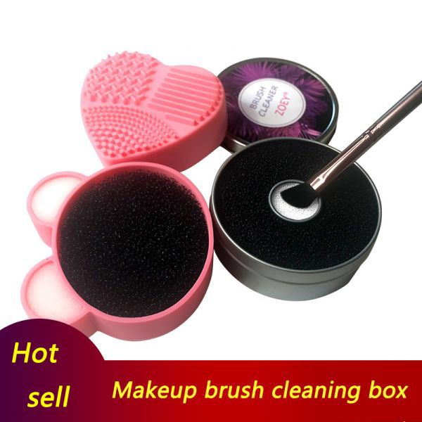 Photo of US $1.18 41% OFF|Silicone Makeup Brush Cleaner Sponge Remover for Eyeshadow Brush Color Remove Sponge Tool Quick Color Off Make Up Cleaning Kit|Eye Shadow Applicator| |  – AliExpress