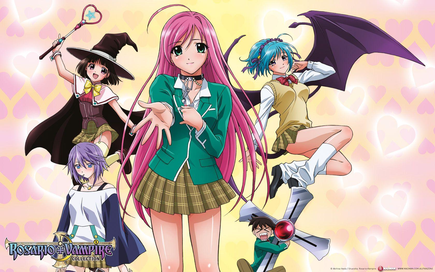 Rosario Vampire Rosario Vampire Rosario Vampire Anime Rosario Vampire Season 2