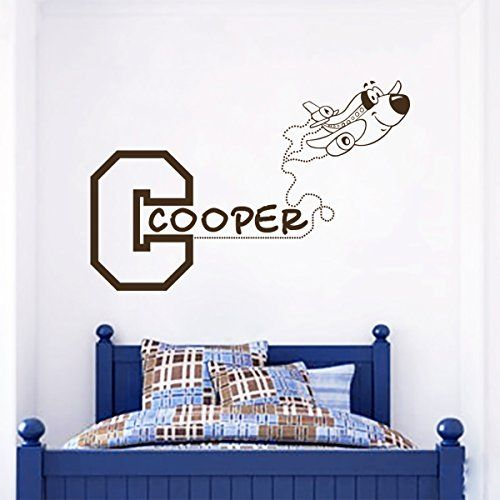 Monogram Wall Decal Personalized Name For Boy Decor Kids Playroom - Monogram wall decal for kids