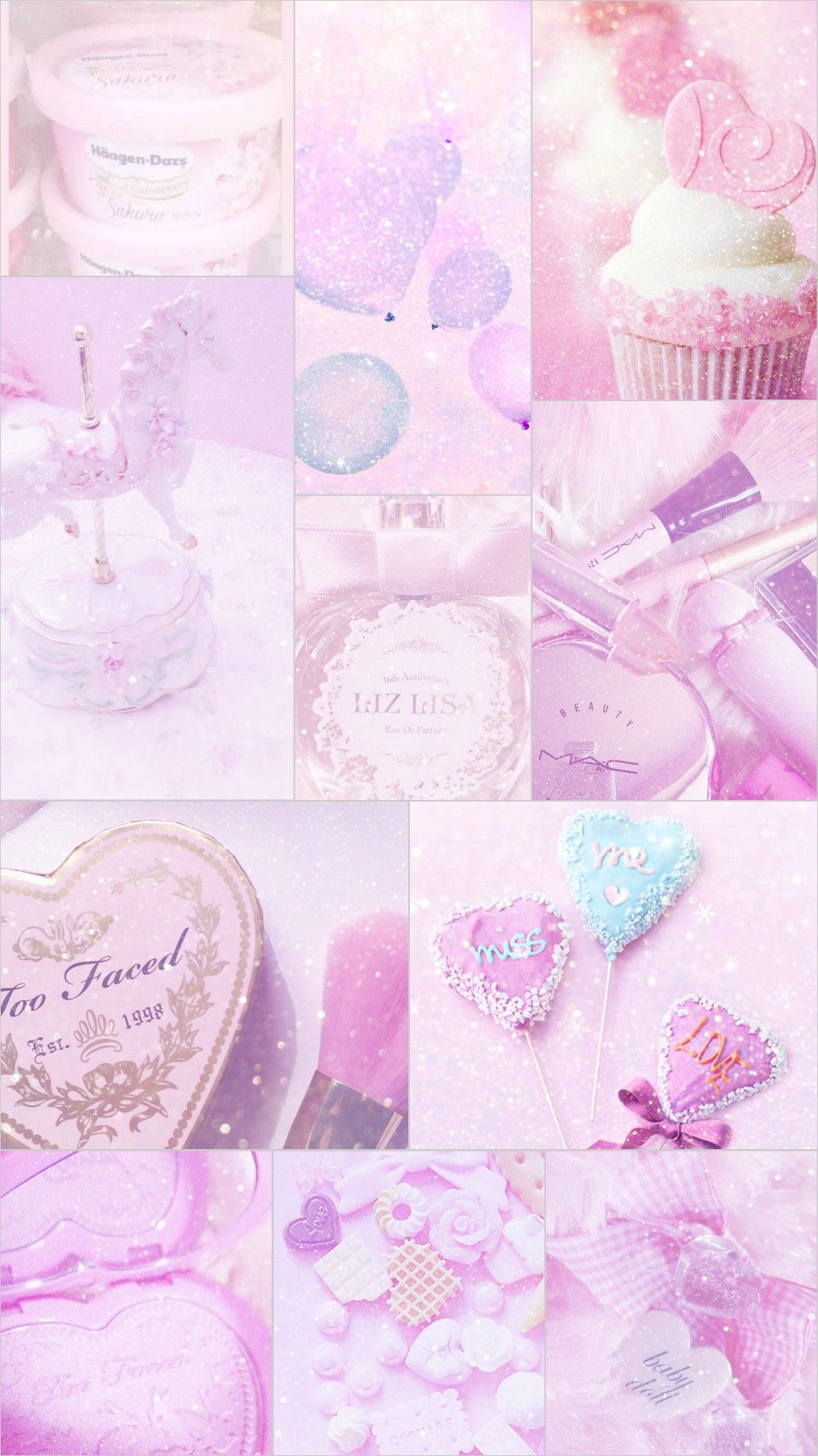 pink,cute collage Pink aesthetic, Pink wallpaper for