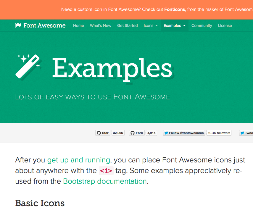 Font Awesome how to use Font Awesome as a vector icon