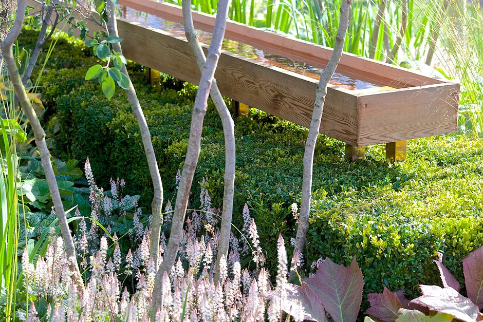 The Vestra Wealth's Vista show garden at the RHS Hampton Court Palace Flower Show 2014 / RHS Gardening