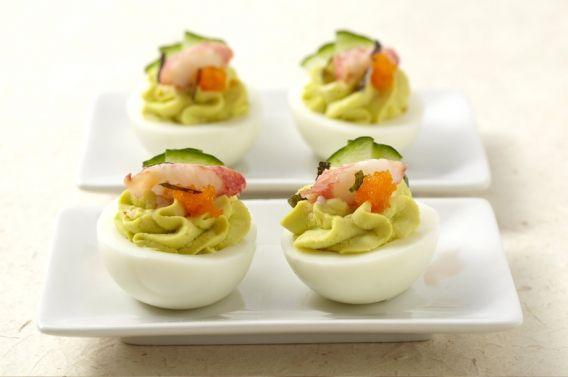 California Roll » D'Lish Deviled Eggs