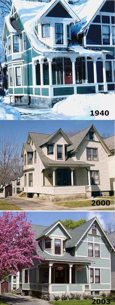 This Is How Vinyl Siding Ruins Historic Houses Historic Homes Vinyl Siding Urban Planning
