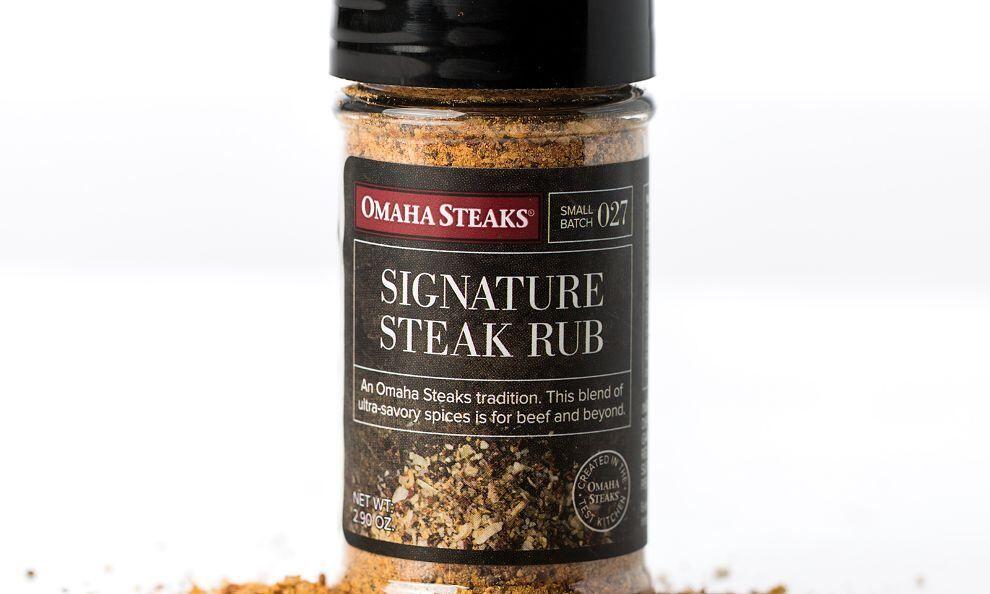 2.9 oz. jar Signature Steak Rub #steakrubs Signature Steak Rub #steakrubs
