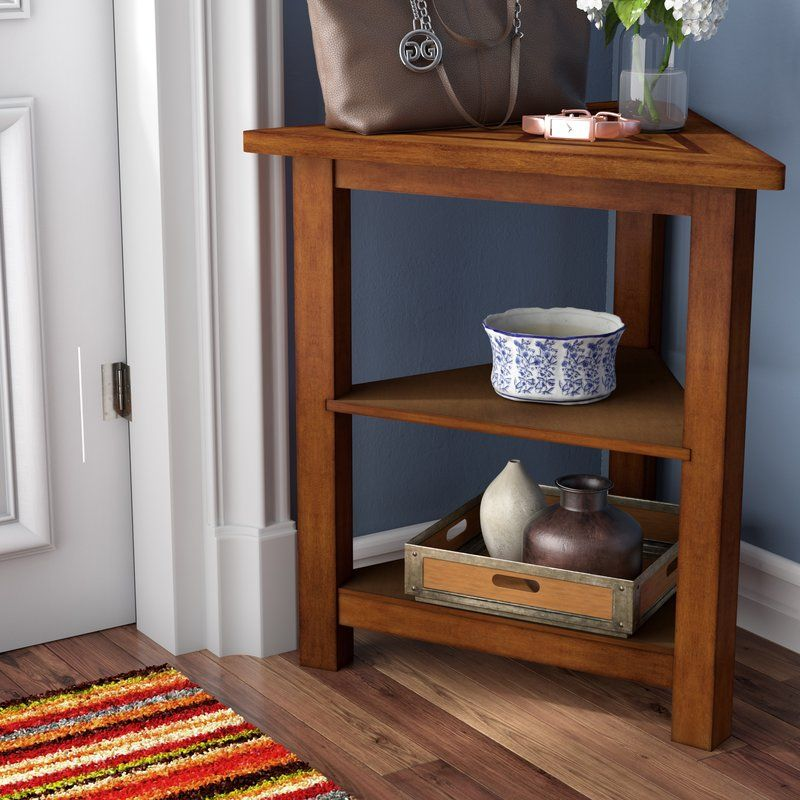 Heartwood Triangle End Table With Storage Triangle End Table End Tables With Storage Wood End Tables #triangle #end #tables #for #living #room