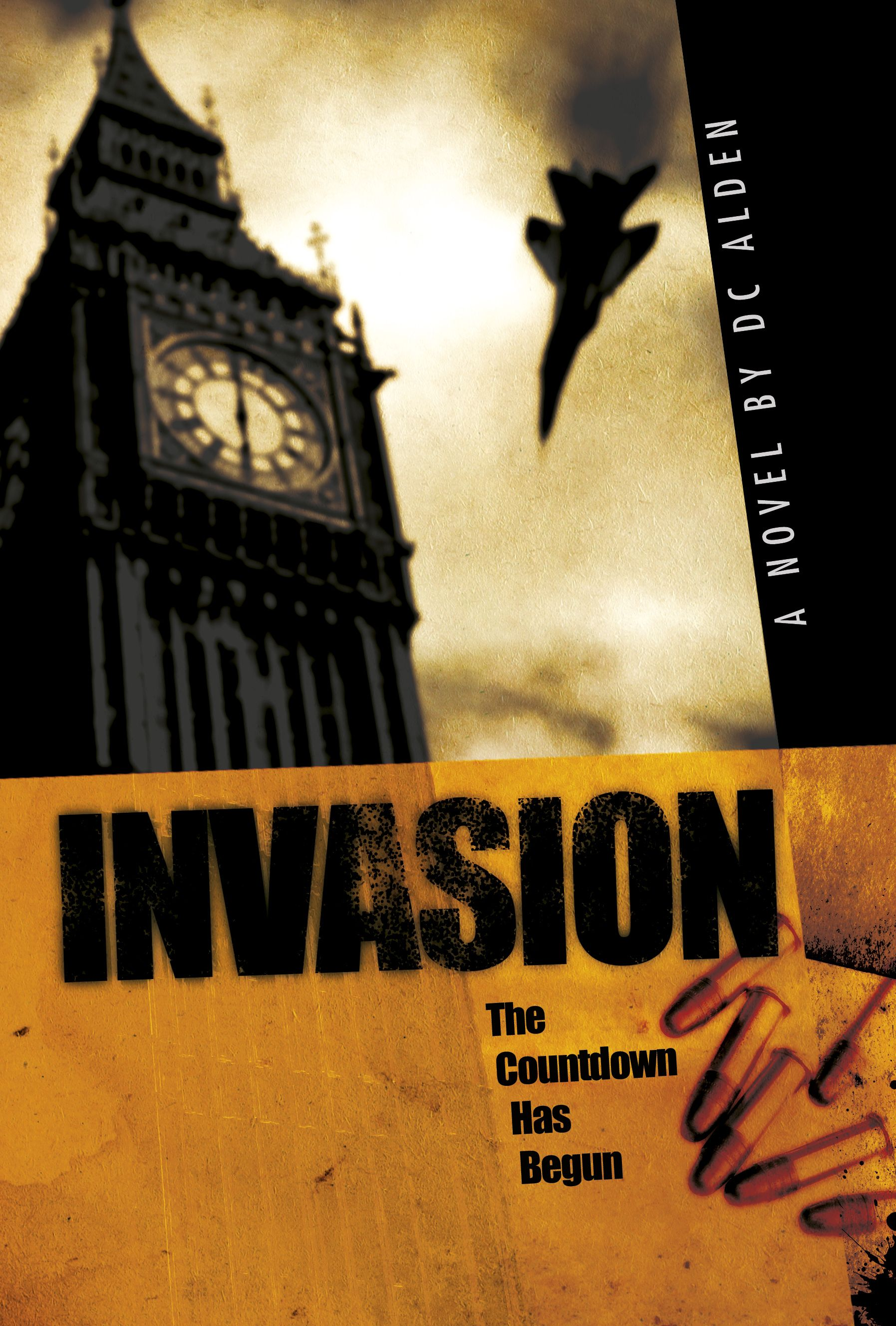 The cover of the military thriller Invasion