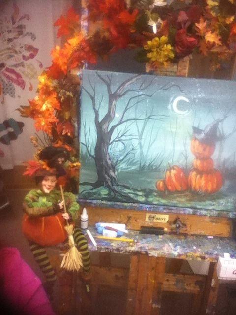 Spooky Hollow Tutorial For Hart Party Pumpkin Halloween