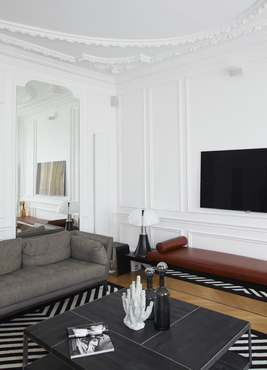rue d 39 argenteuil gcg architectes interior pinterest. Black Bedroom Furniture Sets. Home Design Ideas