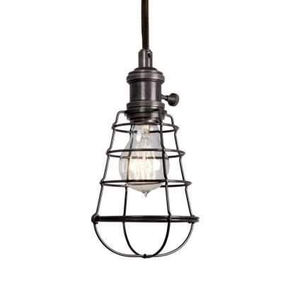 Home Depot Aged Bronze Cage Pendant 69 97 Who Knew Has A Fixture This Cool