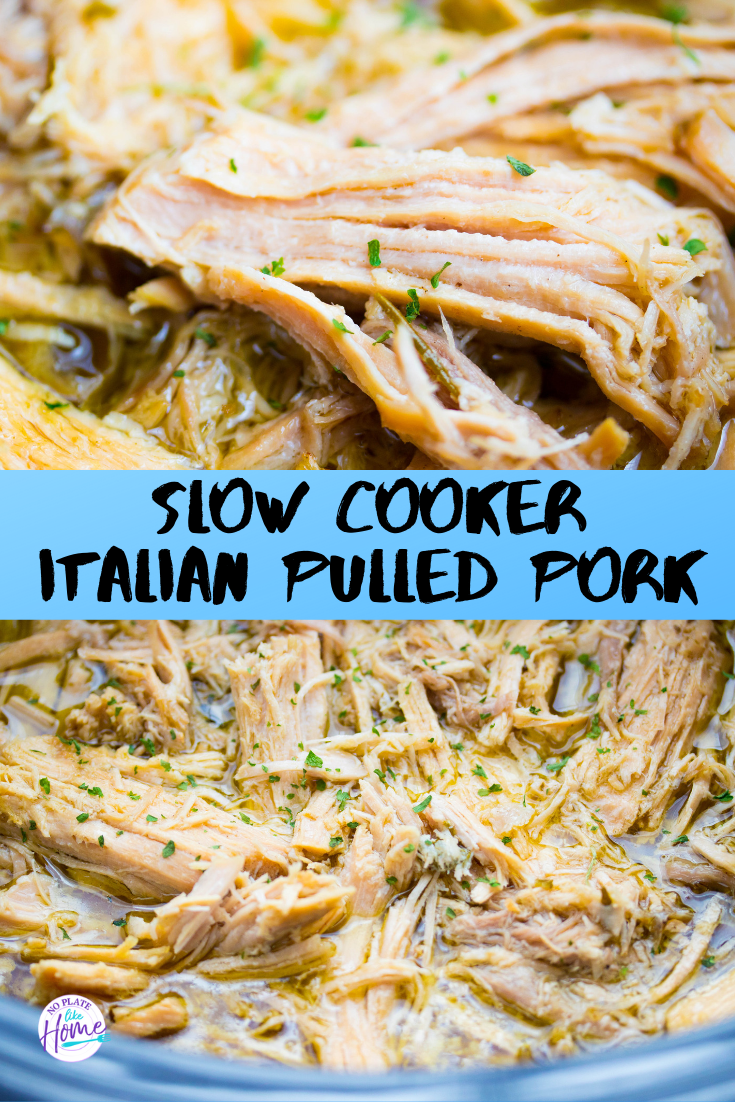 Slow Cooker Italian Pulled Pork images