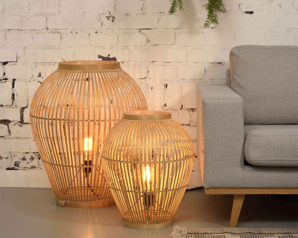dekorasyonda-bambu-aydınlatma