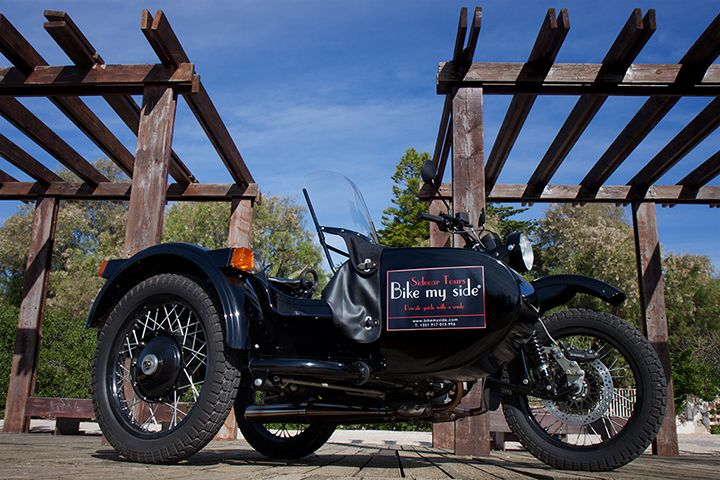 One of Bike My Side stars - our Ural motorcycle!