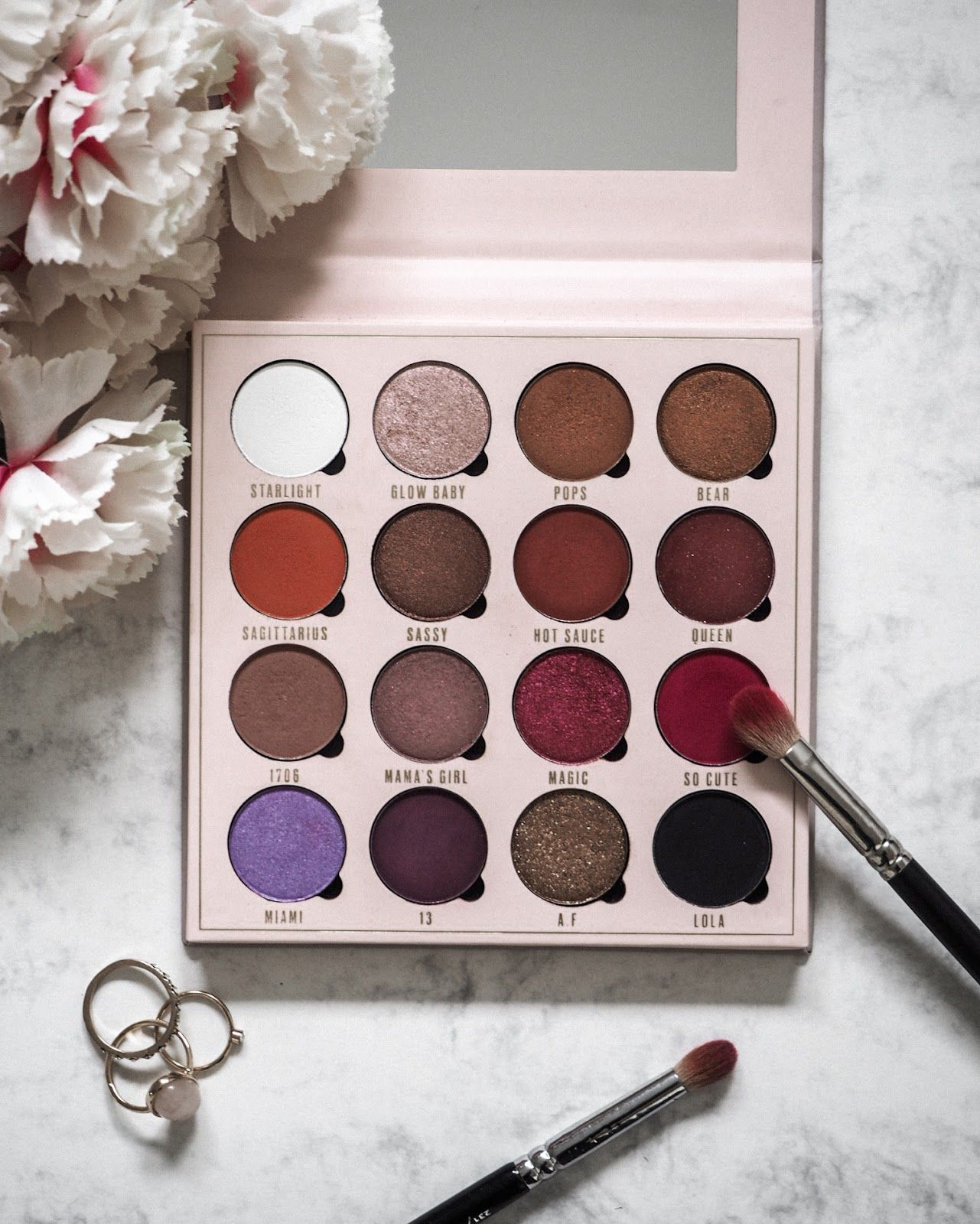 Belle Jorden x Obsession Eyeshadow Palette First
