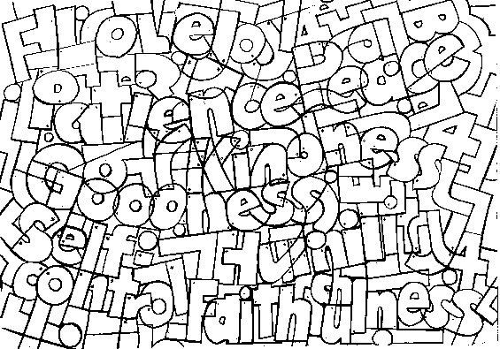 fruit of the spirit coloring pages - Google Search | Kids Ministry ...