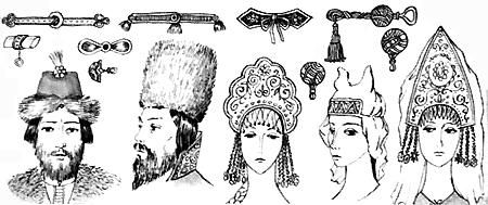 Реферат по истории костюма женские прически киевской руси Модные  Реферат по истории костюма женские прически киевской руси