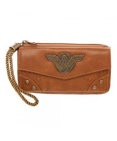Look what I found on #zulily! Wonder Woman Top Zip Wallet by Wonder Woman #zulilyfinds