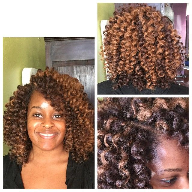 Crochet braids using @xpressyourkinks FroKinks! Sooo soft, light, and bouncy! Lo