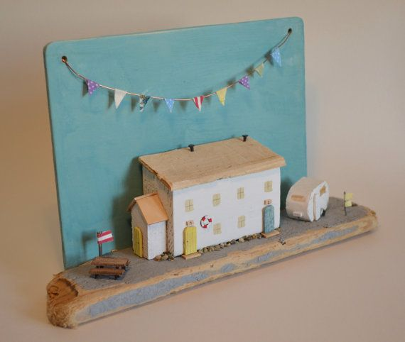 Driftwood 'Holiday Cottages' Handmade in by HSDesignsCornwall
