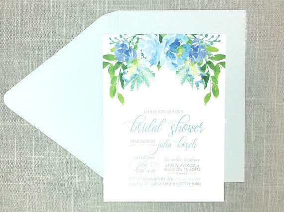 9fc836195ef4 Celebrate the bride with a gorgeous floral bridal shower! This ...